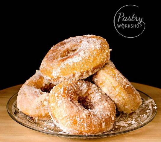 sweet potato fried donuts