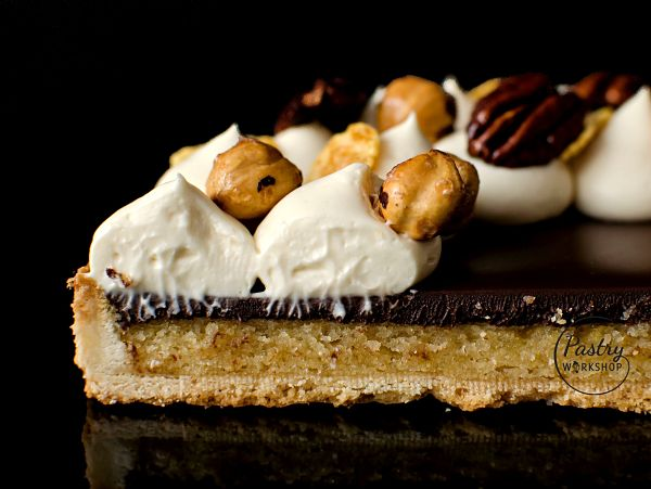 chocolate Amaretto tart