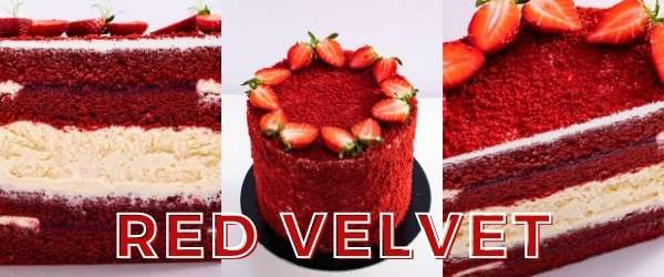 online pastry classes - red velvet layered cake