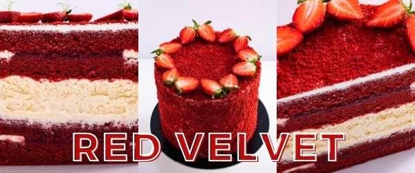 online pastry classes - red velvet layered cake