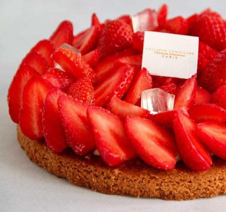 philippe conticini - tarta cu fructe