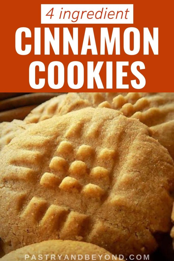 Pin for cinnamon cookies