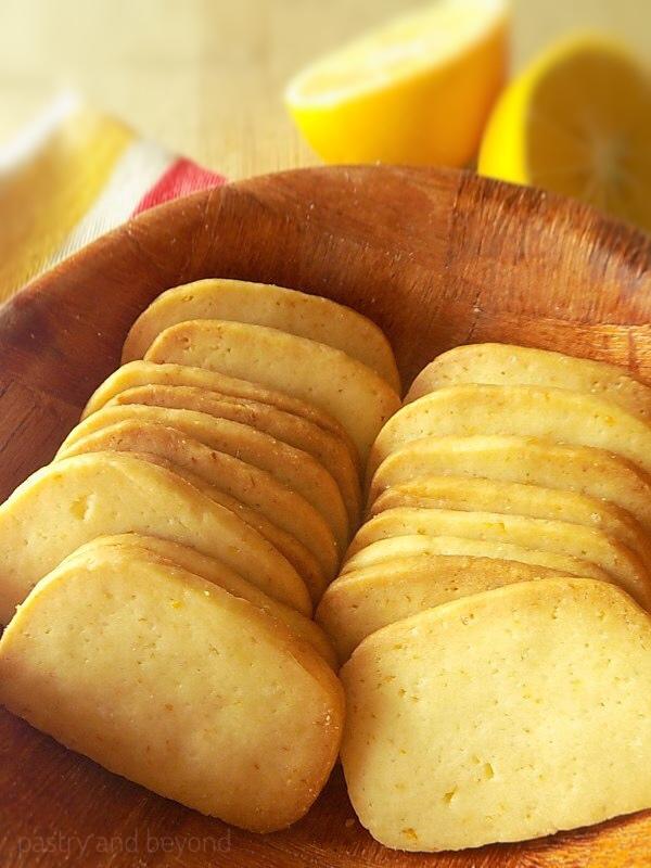 Lemon Slice-and-Bake Cookies