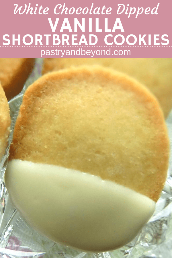 Easy Slice-and-Bake Vanilla Shortbread Cookies