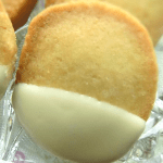 Easy Slice and Bake Vanilla Shortbread Cookies