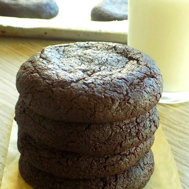 Chocolate Cookies with Cocoa Powder