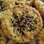 Nigella & Sesame Seed Olive Oil Crackers