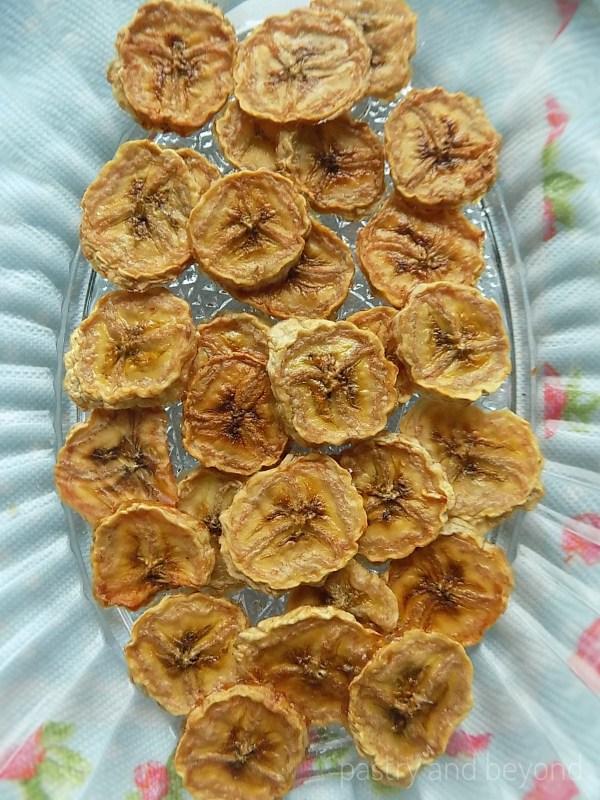 Homemade Oven Dried Bananas