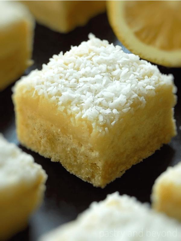 Lemon Coconut Squares