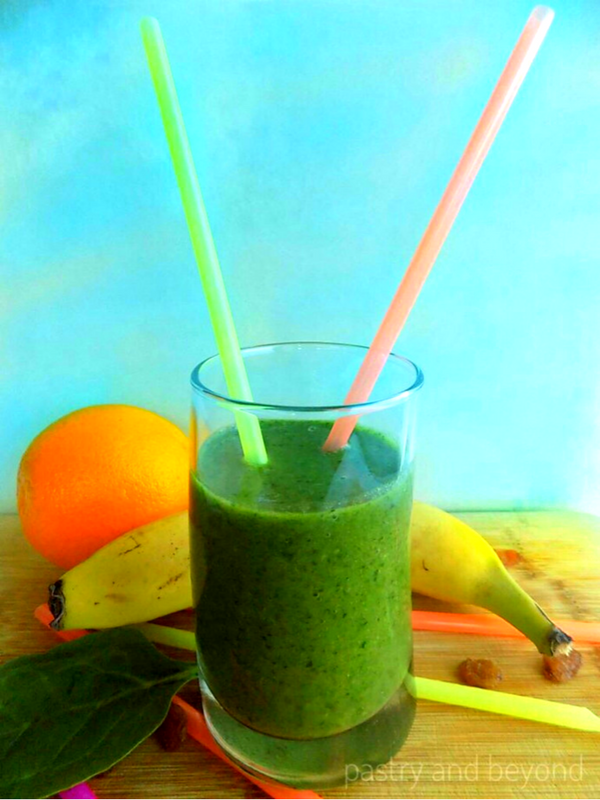 GREEN IRON RICH SMOOTHIE