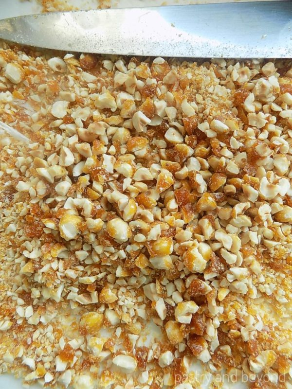 Chopped Caramelized Hazelnuts