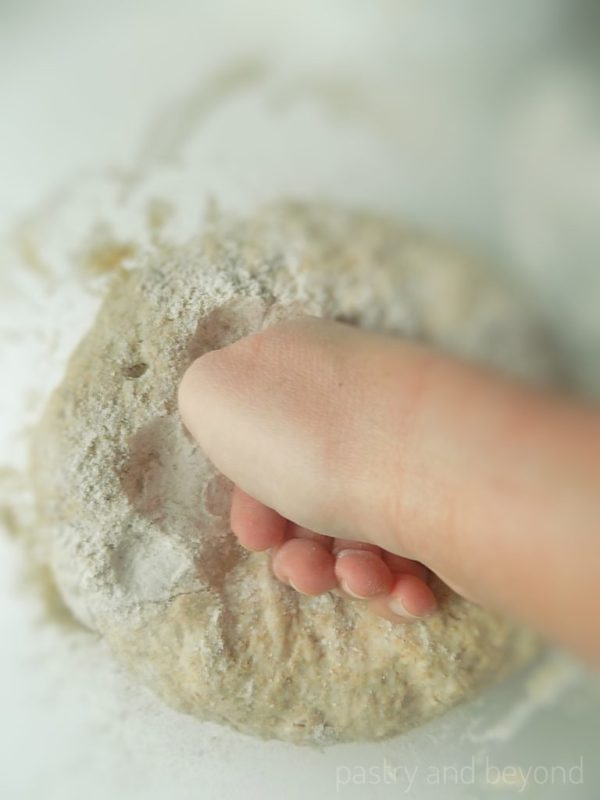 Deflating the Dough with knuckle