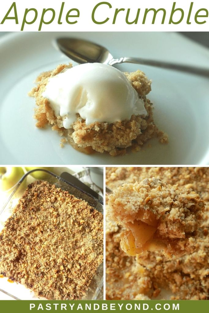Pin for apple crumble