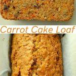 Carrot cake loaf pin