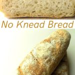 No knead loaf bread pin
