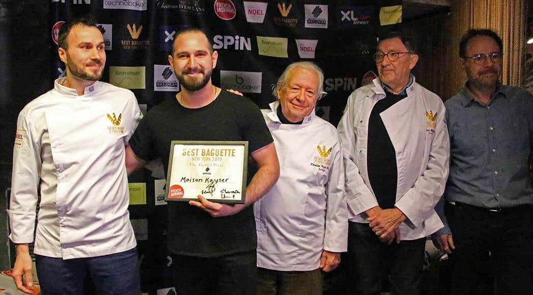 Maison Kayser Reigns Supreme At New York Baguette Competition