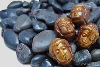 Caramel buddhas