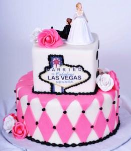Pastry Palace Las Vegas Wedding Cake 714 - Married in Fabulous Las Vegas