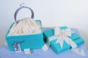 """Tiffany Ring"" - Pastry Palace Cake #746"