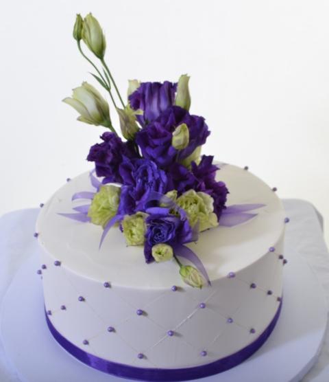 1326 - Elegant Purple Bouquet