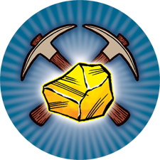 Gold Mine challenge token