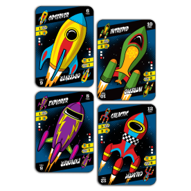 Launch Pad rocket cards