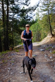 packing a platypus hydration pack and snacks in my kelty impact 30 pack