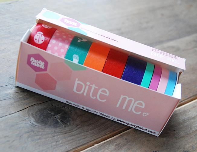 Bite Me Washi Tape