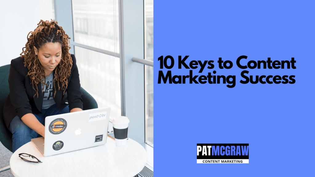 10 Keys Content Marketing Webinar