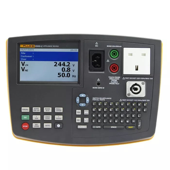 Fluke 6500-2 PAT Tester