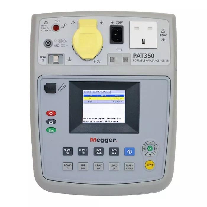 Megger PAT350 PAT Tester