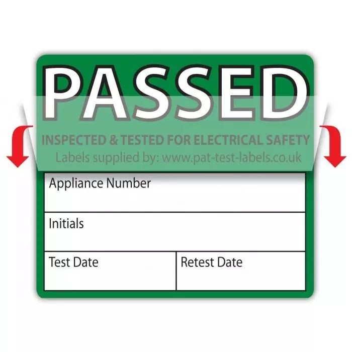 Mark and Seal Pass Labels (x500)