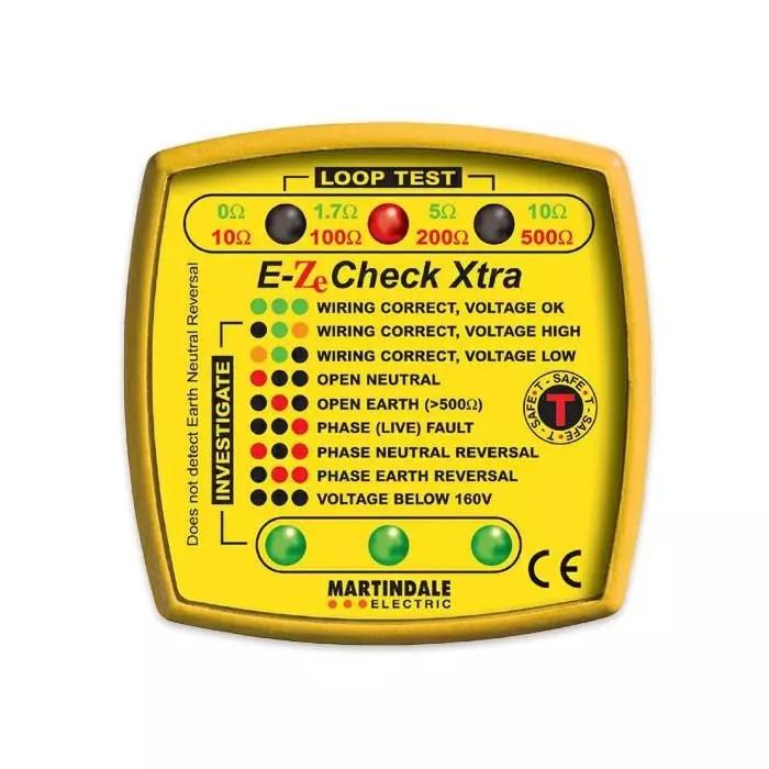 Martindale EZ150 Socket Tester