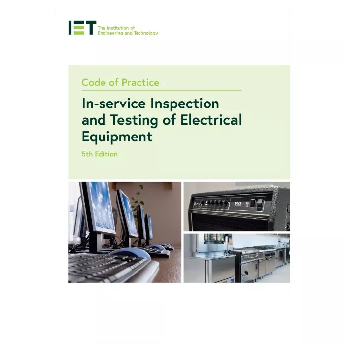 IET Code of Practice – 5th Edition