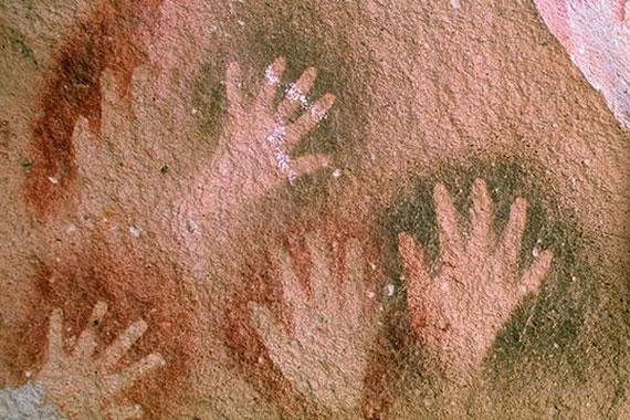 Panel de manos