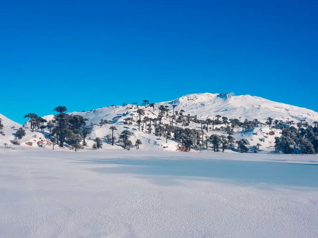 caviahue ski resort nevado