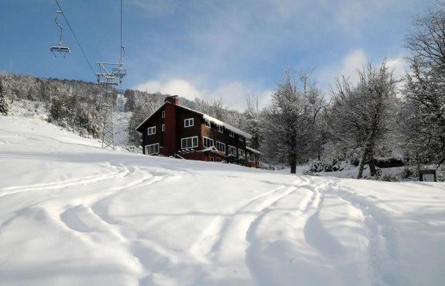Apertura de centros de esquí en la Patagonia. Perito Moreno.