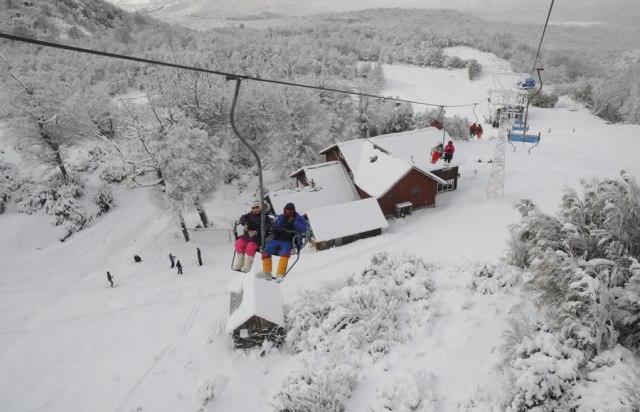 Cerro Perito Moreno en El Bolsón.