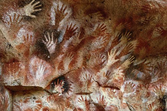 cueva de las manos en Perito Moreno