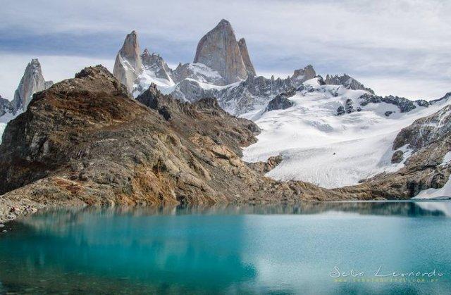 Laguna de los tres en El Chaltén.