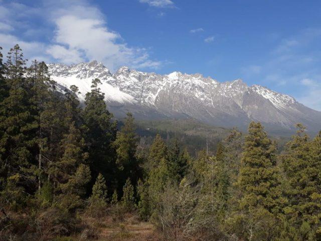 Vista del Cerro Piltriquitrón desde Amigo