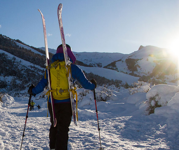 Centro de esquí nórdico en Bariloche