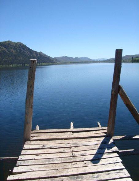 Lago Mosquito en Cholila