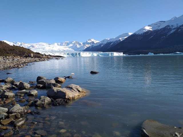Parque Nacional Los Glaciares en invierno