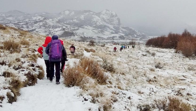 Senderos del Parque Nacional Los Glaciares en Invierno