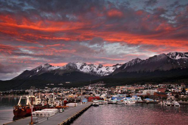 Ushuaia, otro de los destinos más elegidos de la Patagonia.