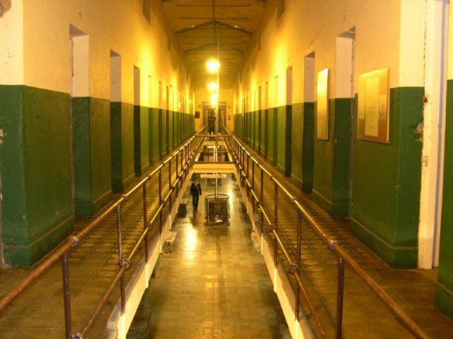 Uno de los pabellones de la Cárcel Del Fin Del Mundo
