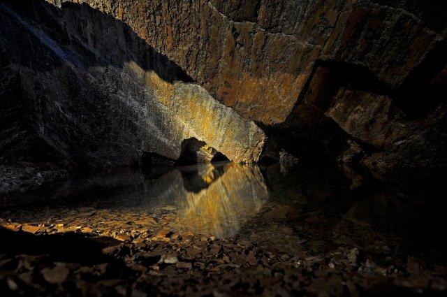 Cavernas del Viejo Volcán en Cerro Leones