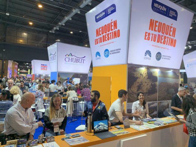 Stand de Neuquén en la Feria Internacional de Turismo