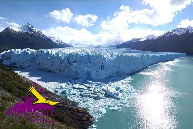 Panorámica Glaciar Perito Moreno en El Calafate, la tercer localidad más hospitalaria.